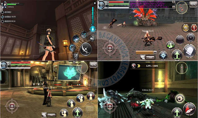 Game God Eater online Versi Terbaru Apk full For Android