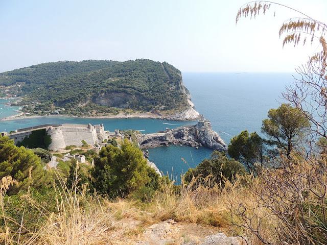 isola palmaria e sotto castello portovenere