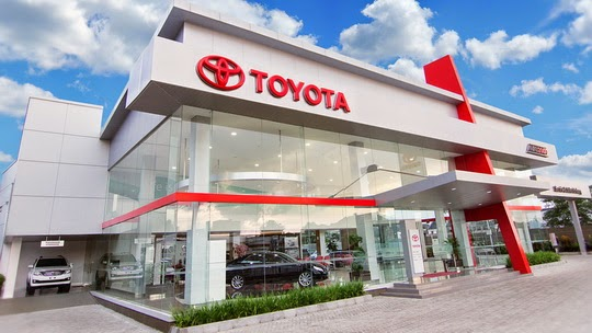Daftar Showroom Dealer Toyota Jakarta