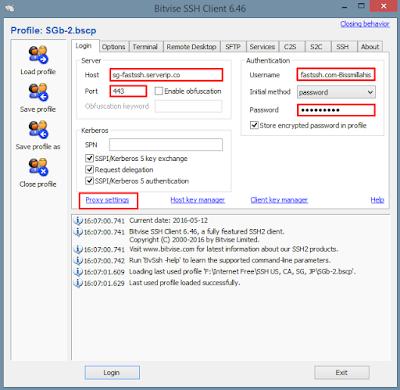 Tutorial Setting Inject dengan Bitvise SSH Client Terbaru 11