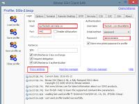 Tutorial Setting Inject dengan Bitvise SSH Client Terbaru