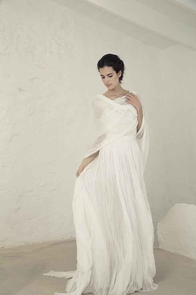 cortana vestido novia original romántico bohemio boda blog