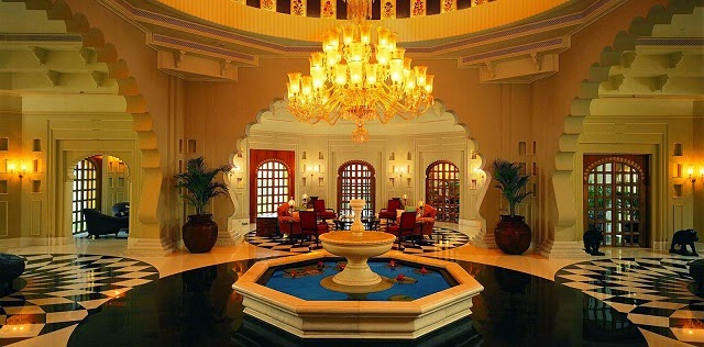 The Oberoi Udaivilas - the best premium luxury hotel in Udaipur