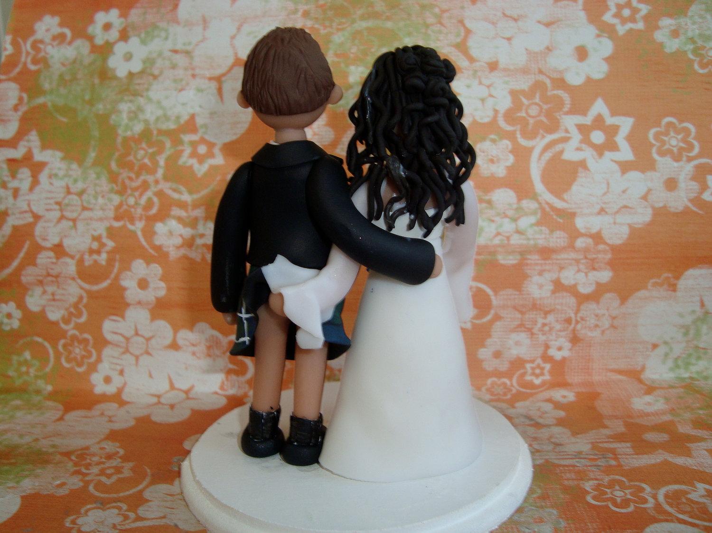 Scottish Wedding Cake Toppers