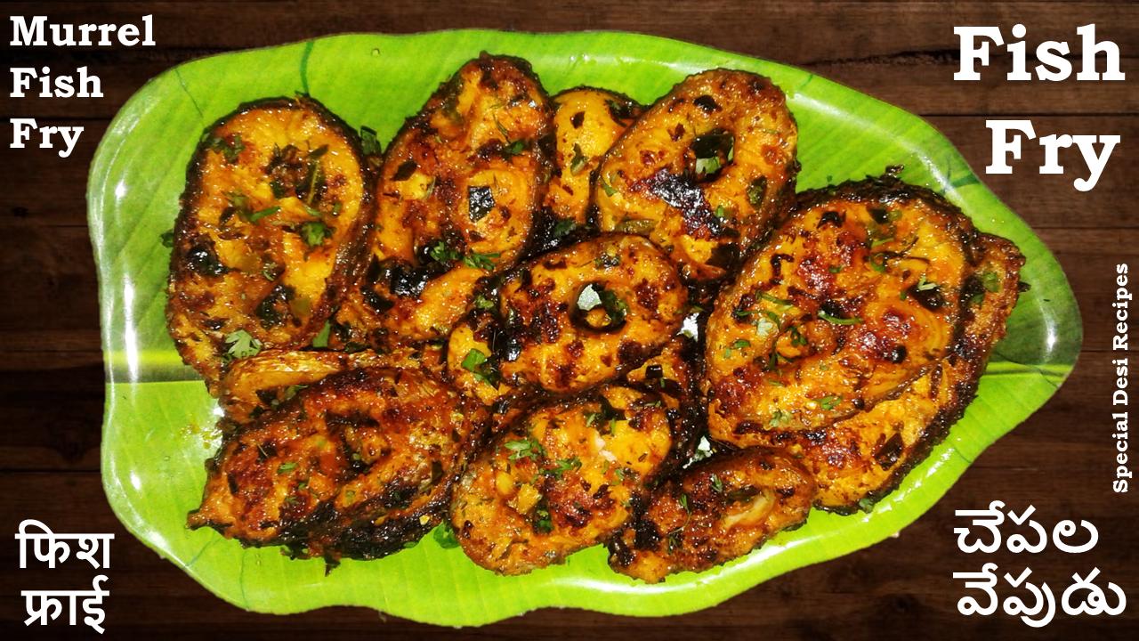 fish fry special desi recipes