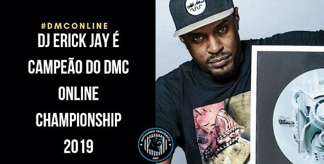 DJ Erick Jay é mais uma vez campeão! Confira.
