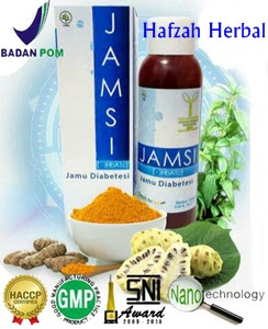 Obat herbal diabetes jamsi murah di hafzah herbal