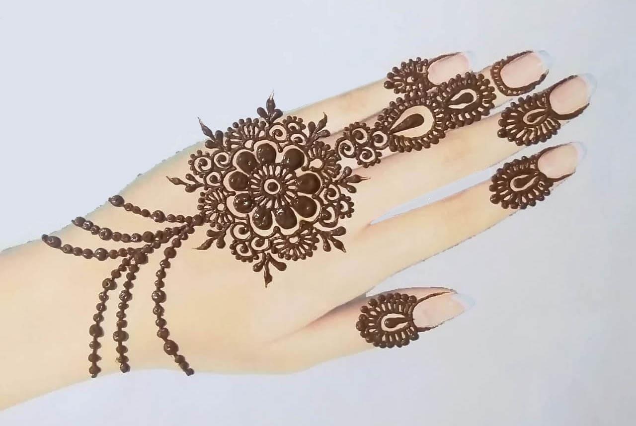 Tedious Flower Jewellery Design