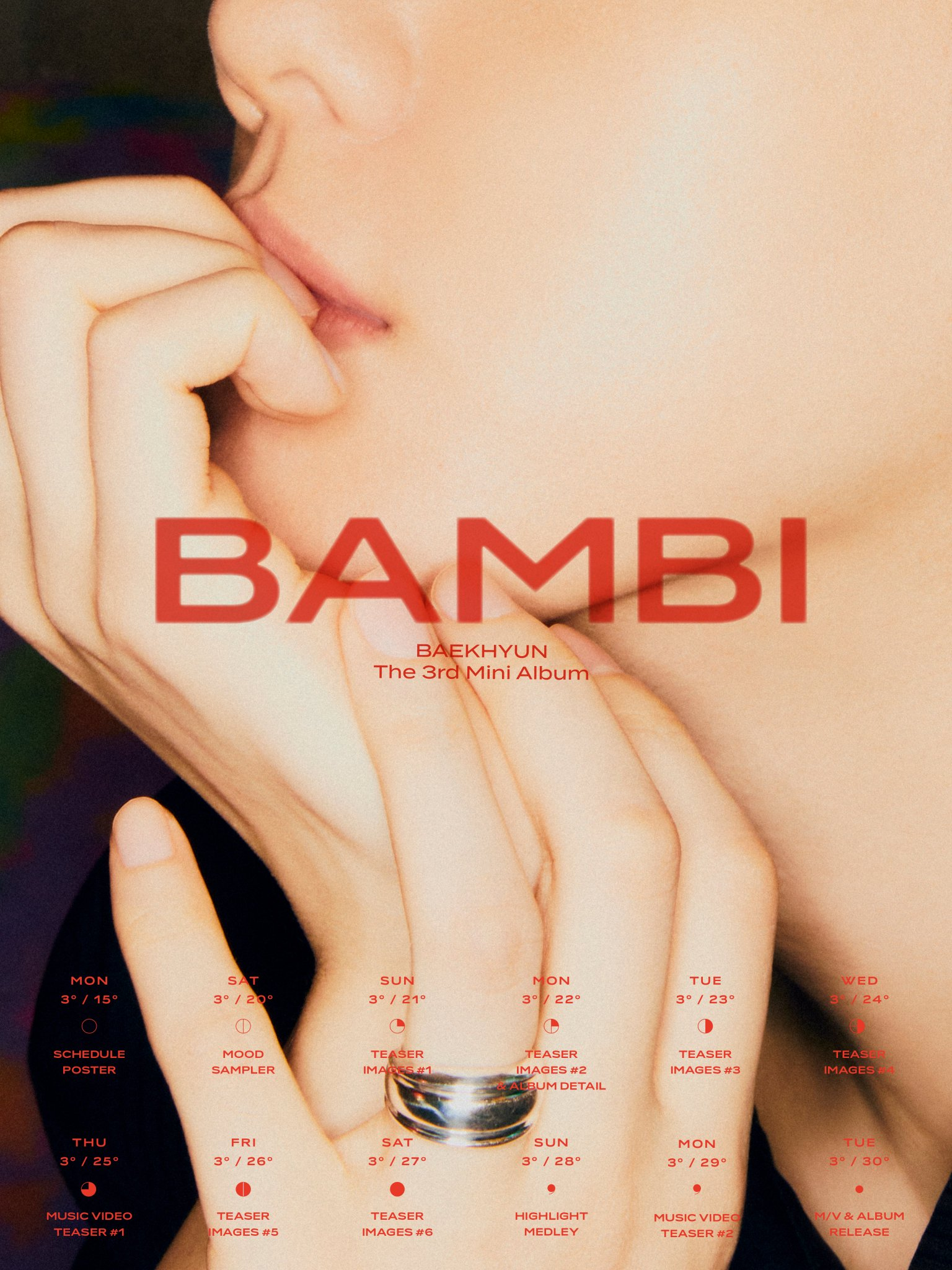 Baekhyun : Bambi MV + Bambi Album Download