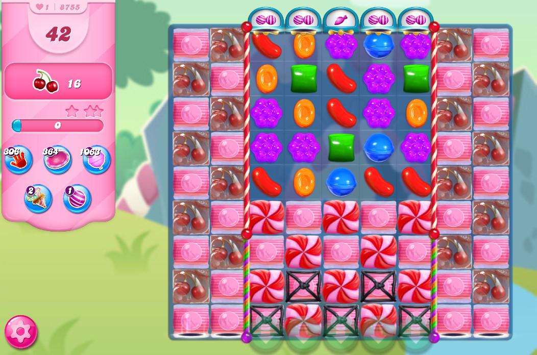 Candy Crush Saga level 8755