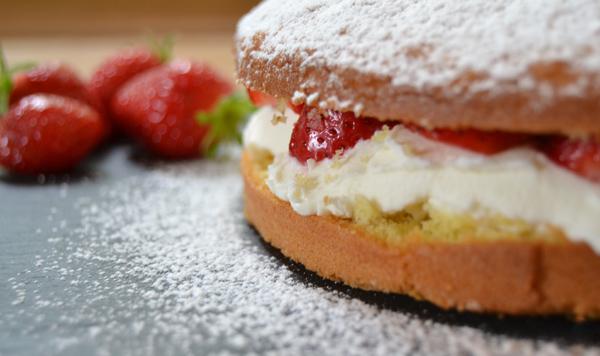 Recette Sponge Cake Base Fruit