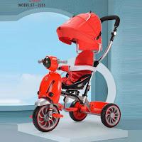 Sepeda Roda Tiga Anak Exotic ET2251 Scooter Baby Tricycle