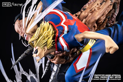United States of Smash HQS de Boku no Hero Academia / My Hero Academia - Tsume Art