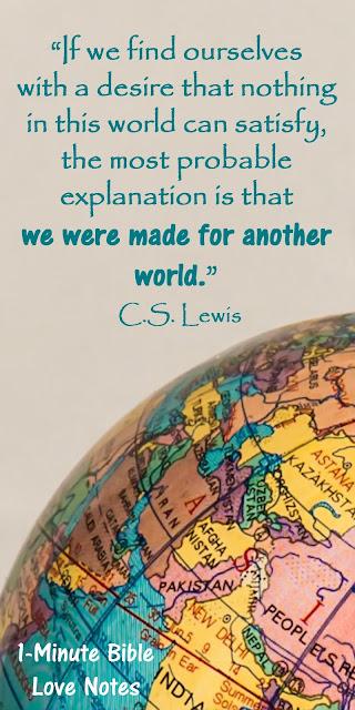 C.S. Lewis, Disney World, Heaven