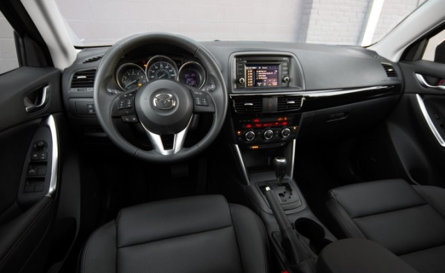 2013 Mazda CX-5 Grand Touring Dashboard