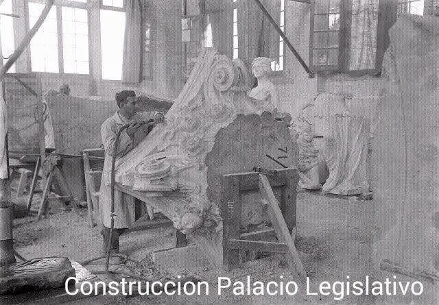 Contrsucción Palacio Lesgilativo interior
