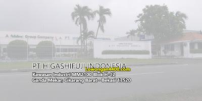 Lowongan Kerja Operator Produksi Cikarang PT Higashifuji Indonesia Bulan Juni 2020