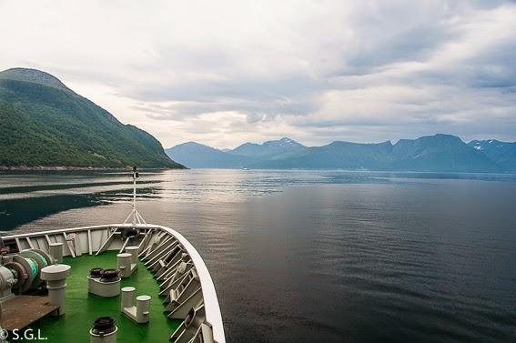 Los fiordos noruegos desde el Hurtigruten, de crucero por el litoral noruego