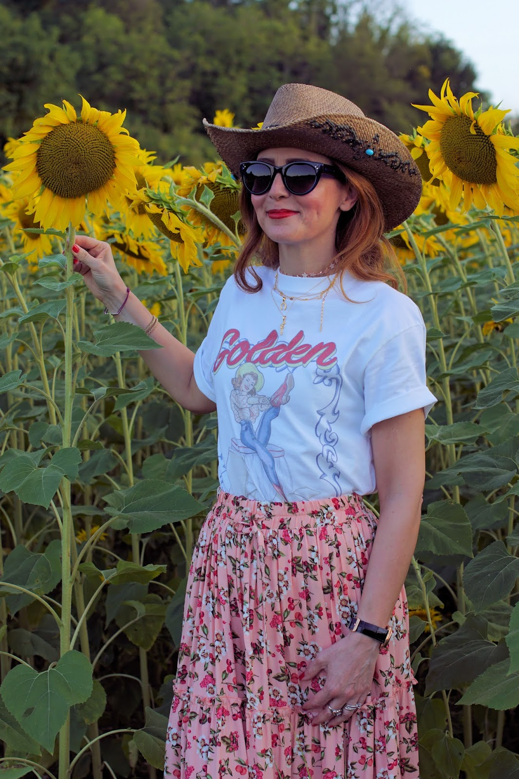 How to wear a country style maxi skirt su Fashion and Cookies fashion blog, fashion blogger