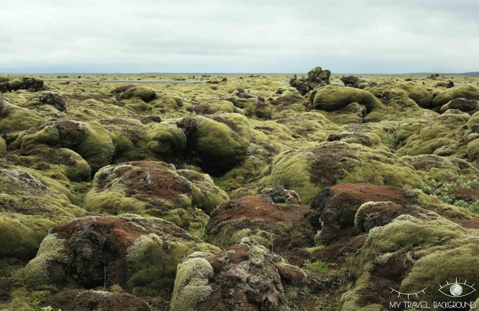 My Travel Background : le sud de l'Islande, de Vik à Höfn - Les champs de lave de Skaftarelldahraun / Eldhraum