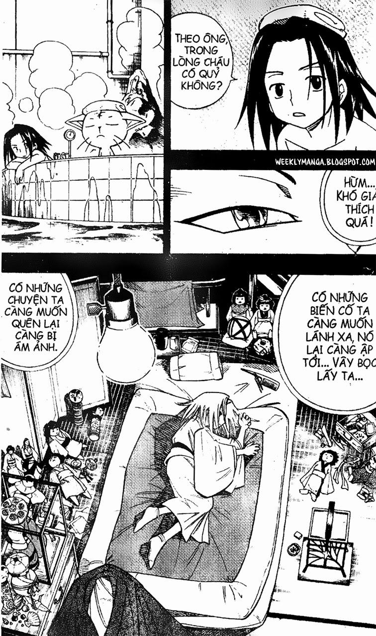 Shaman King [Vua pháp thuật] chap 166 trang 13