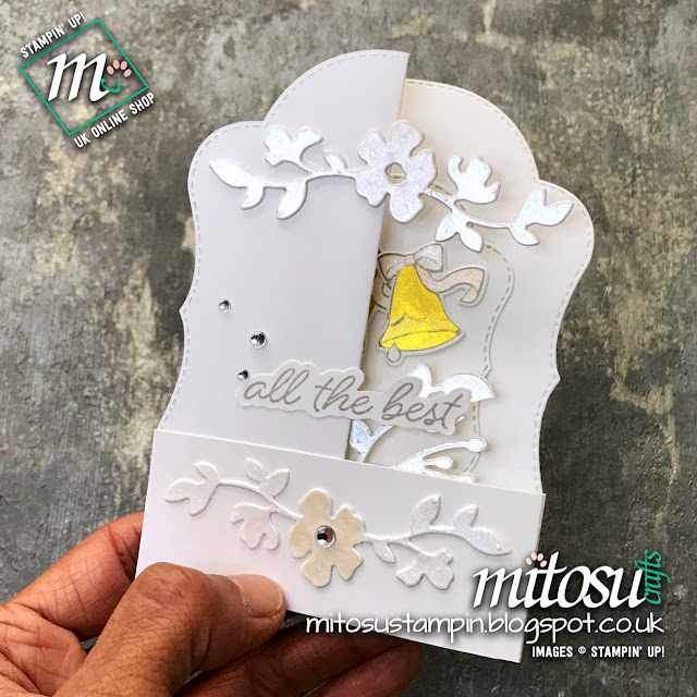 Stampin' Up! Double Z Fold with Stitched Season Framelits. Order craft supplies from Mitosu Crafts UK Online Shop