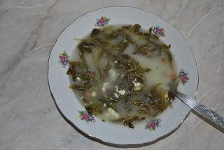 Supă de salată verde