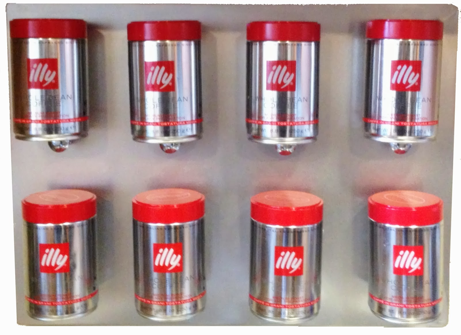 The Barista Illy Coffee Empty Cans Project