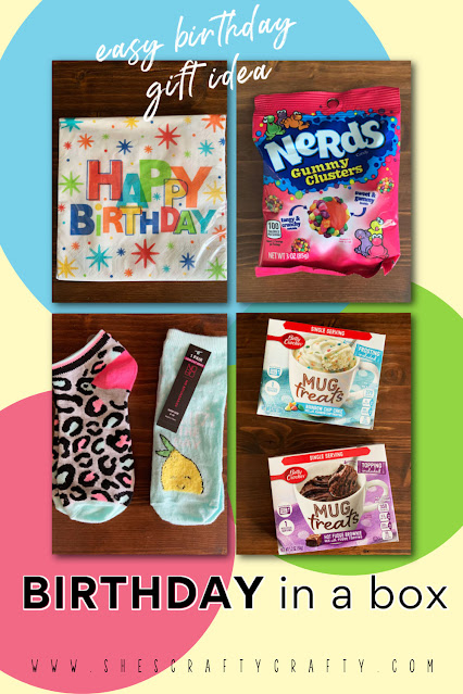 Easy Birthday Gift Idea - Give a Birthday in a Box