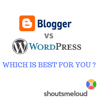 Blogger Vs Wordpress -which is best for you??