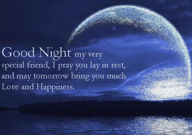 good night my special friend
