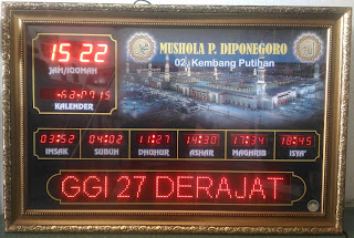Jadwal Shalat Digital Sulawesi Tenggara