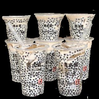 【清水堂】豹紋珍珠愛玉鮮奶,限時10天開賣