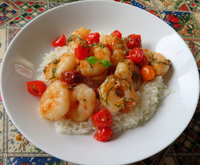 Garlic & Basil King Prawns