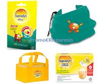Logo Supradyn Difese Junior : ricevi subito scaldacollo e borsa termica