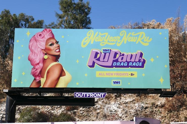 RuPauls Drag Race season 13 billboard