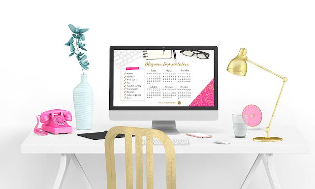 calendaro blogueira empreendedora