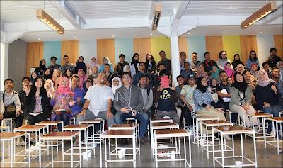 Peserta diskusi Solusi UKM Bandung