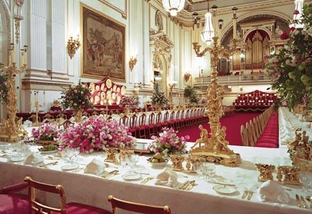 British Royal Dining... the Tidbits and Odd Facts