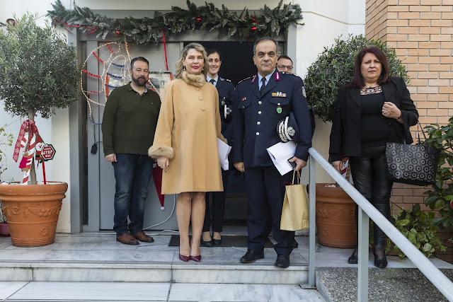 Η Ελληνική Αστυνομία προσέφερε είδη πρώτης ανάγκης στην «Κιβωτό του Κόσμου»