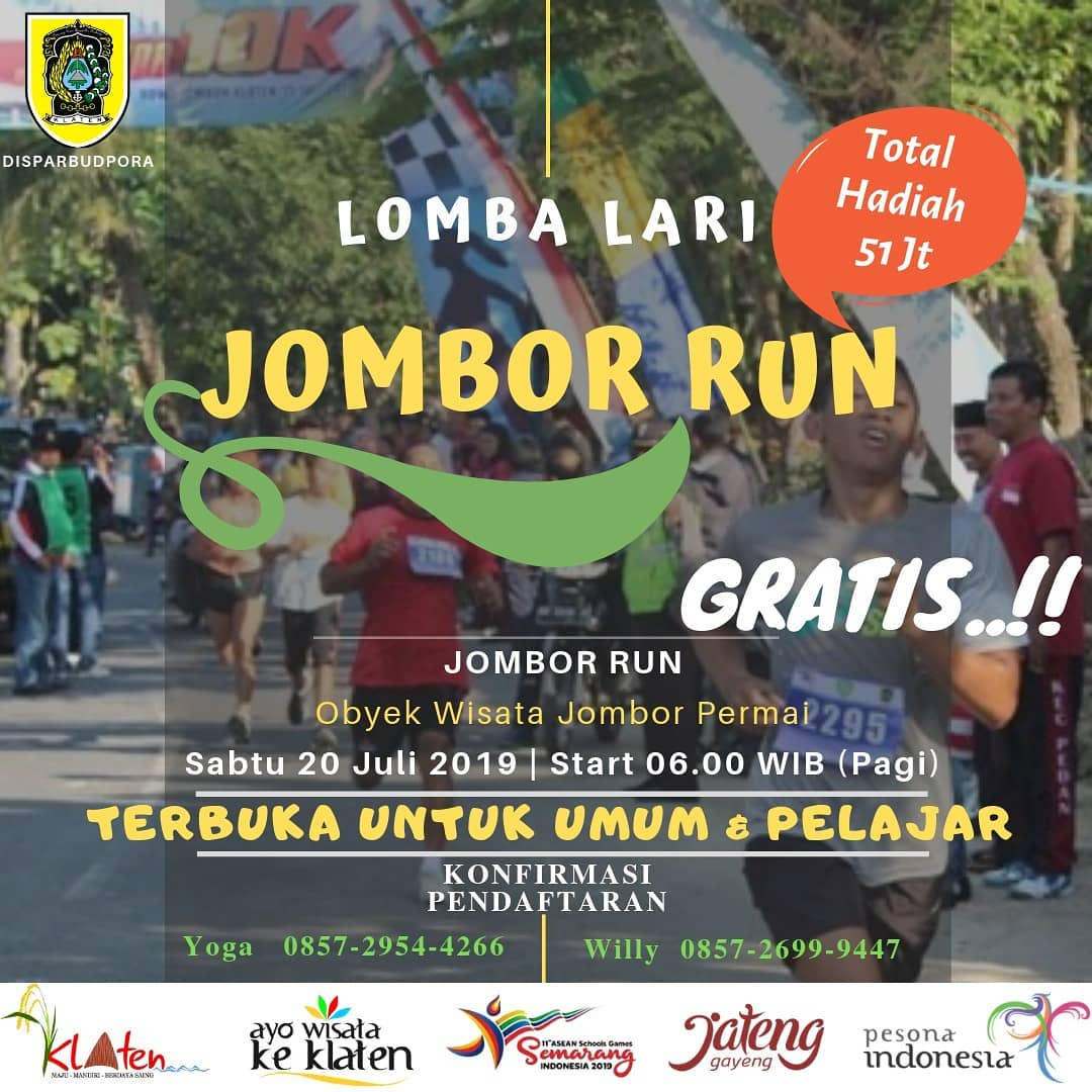 Jombor Run • 2019