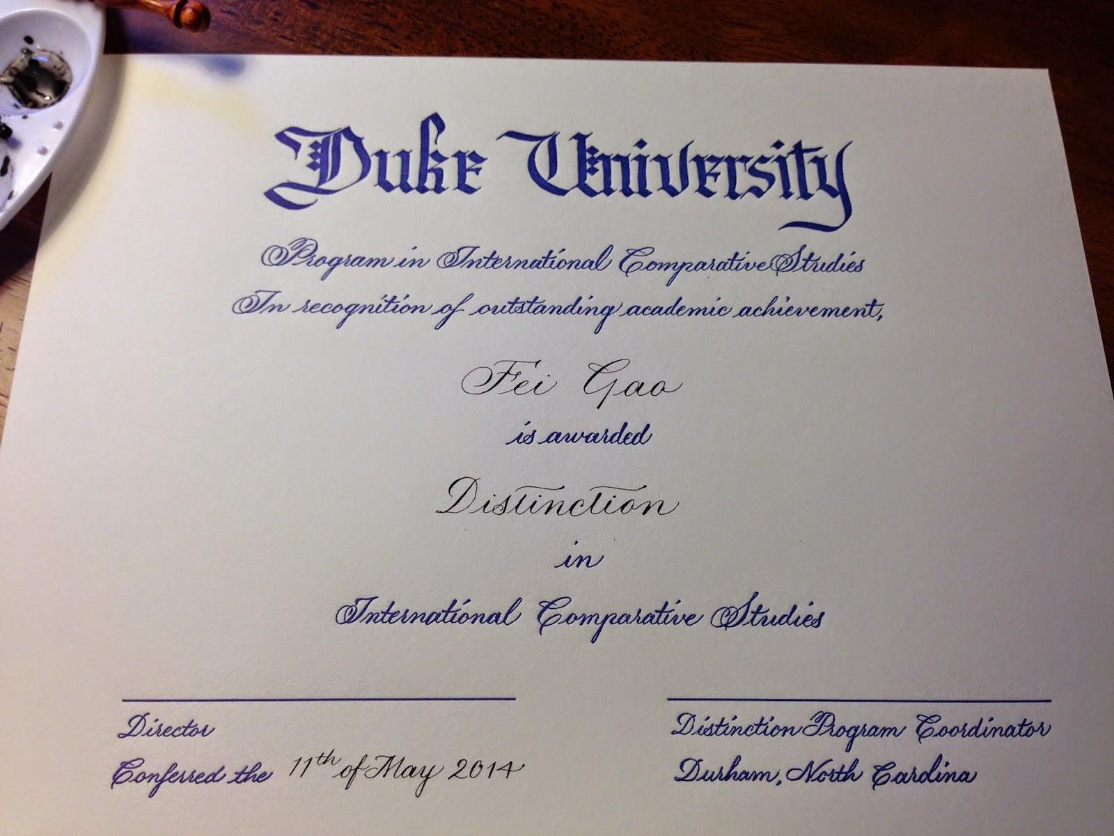 Online Degree and Certificate Programs Duke University