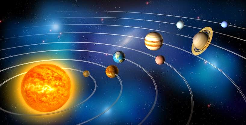 gravity planets solar system - photo #47