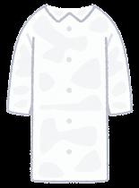 個人防護具のイラスト(男性・レインコート)