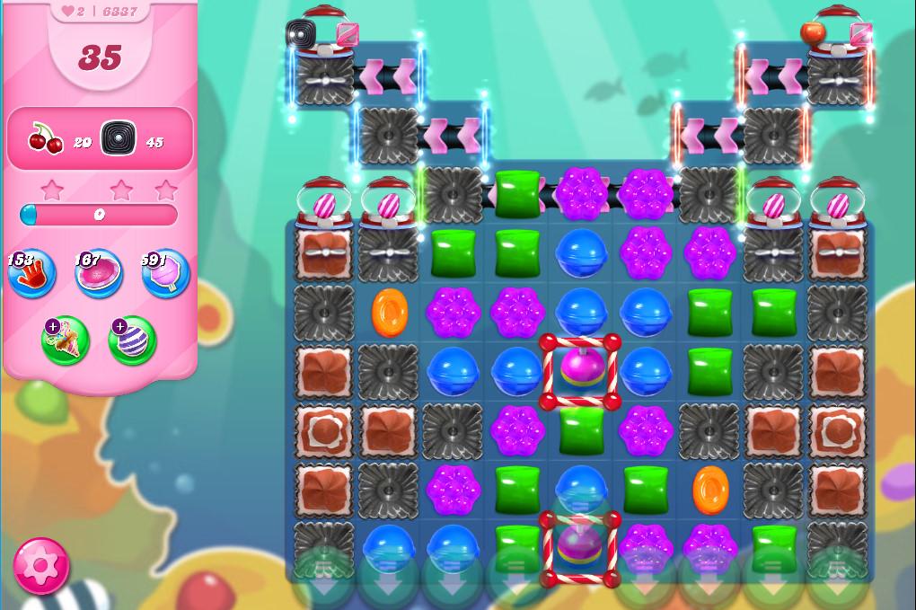 Candy Crush Saga level 6337
