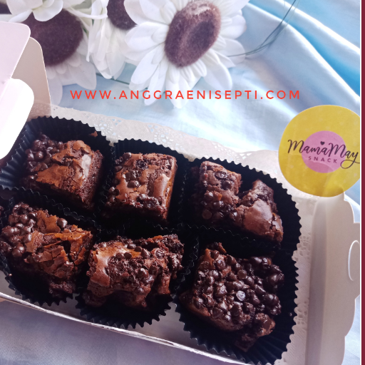 Cita Rasa Fudgy Brownie MamaMay Snack yang Legit Menggigit