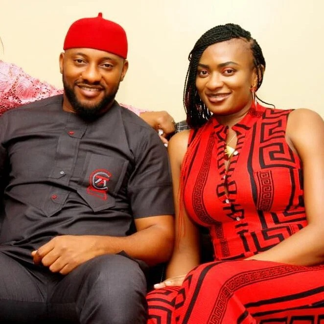Wow 21 years Knowing Each other, Yul edochie congratulates his Wife