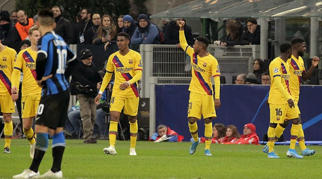 Ansu Fati becomes youngest Champions League goalscorer