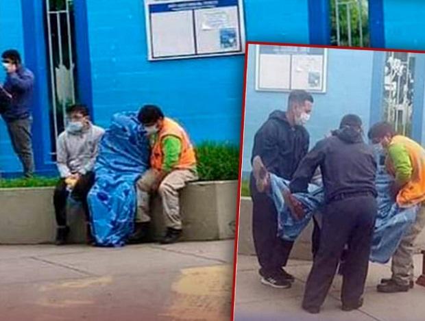 El exalcalde del distrito de Omacha, Paruro, Cusco, León Álvarez Chuchullo (62), falleció en la puerta del Hospital Adolfo Guevara de EsSalud, mientras esperaba atención médica.