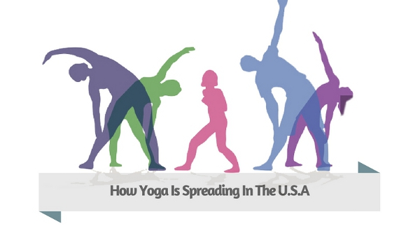 How Yoga Is Spreading In The U.S.A